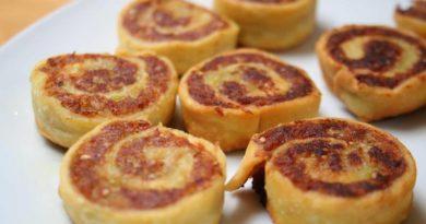 АЛУ ПАТРЫ (картофельные рулеты). Индийская кухня.