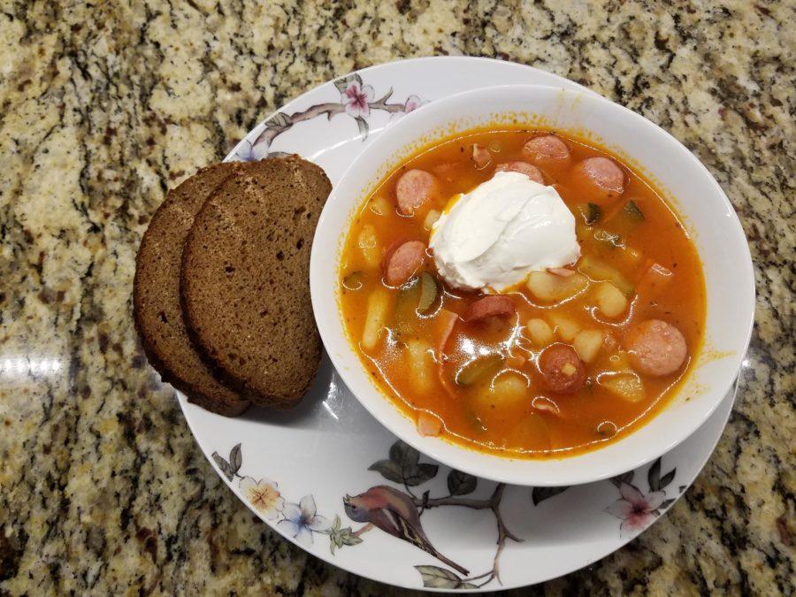 Суп-солянка.