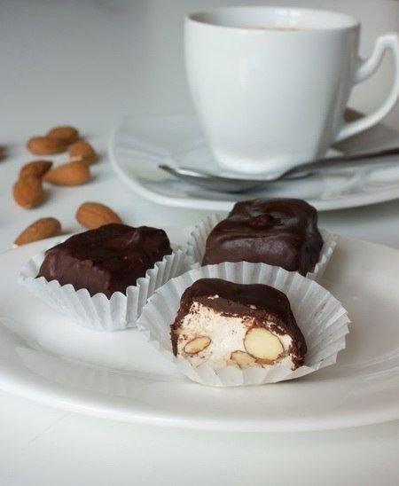 Нуга в шоколаде.