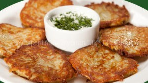 Картофельные драники.