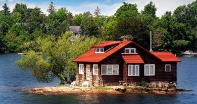 Где находится самый маленький обитаемый остров на планете
