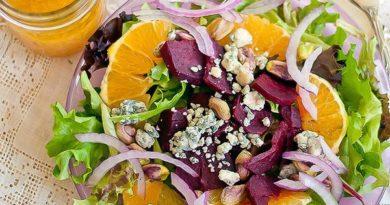 Идеи салатов для легкого ужина.