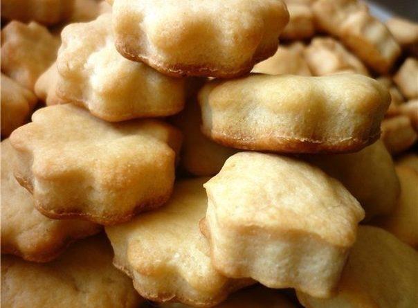 Печенье из плавленных сырков.