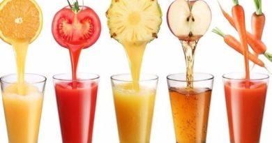 Как сделать оздоровительные соки.