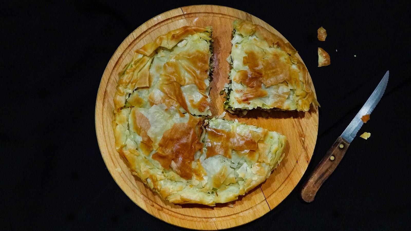 Греческий пирог.