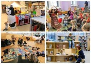 Библиотека в Хельсинки как целая страна.