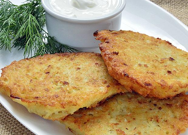 Картофельные оладьи (драники любительские).