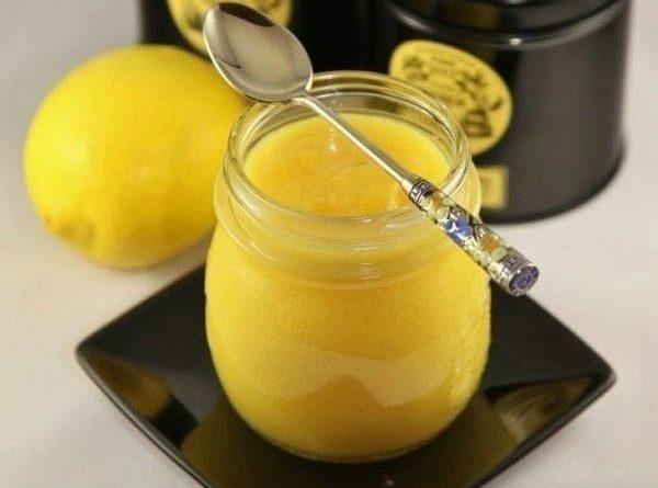 Лимонный крем. Ароматный и вкусный десерт.