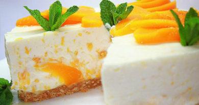 Творожно-мандариновое суфле.