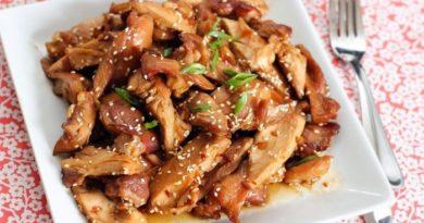 Вкуснейшая куриная грудка в азиатском стиле.