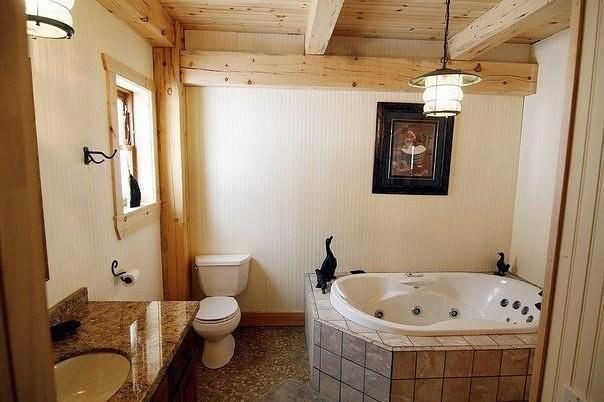 Советы по гидроизоляции ванной комнаты в деревянном доме.