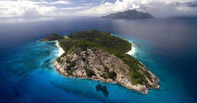 Роскошный частный остров на Сейшелах.