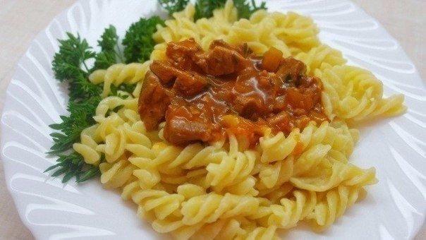 Мясная подлива - соус для вторых блюд.