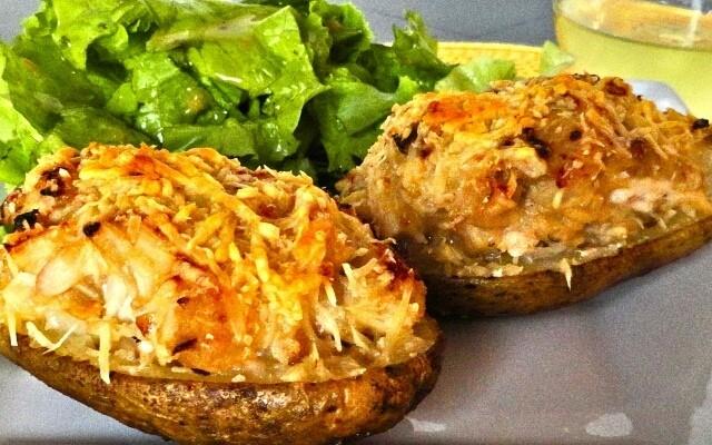 Ароматный картофель по-французски.