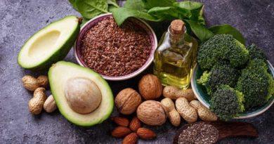 Здоровые источники жиров для вегетарианцев.