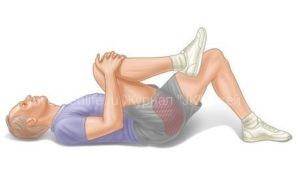 Упражнения при болях в спине и пояснице.