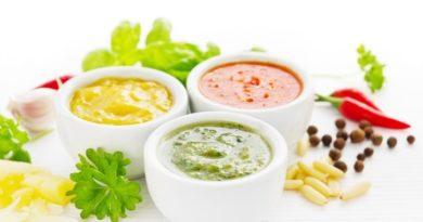 ТОР - 7 Низкокалорийные соусы на основе йогурта