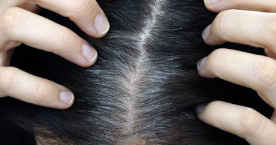 Как избавиться от седых волос.