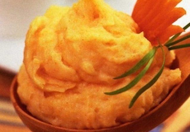 Морковно-картофельное пюре.