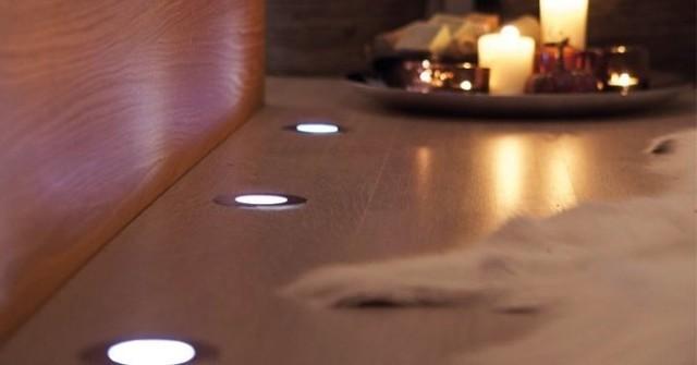 Делаем светодиодную подсветку на полу.