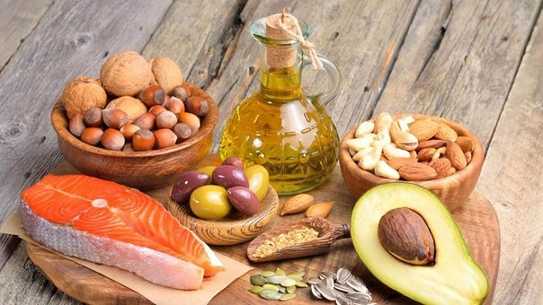 Лучшие источники здоровых жиров.