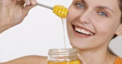 Рецепты народной косметики: маски из меда.
