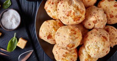 Французские сырные булочки.