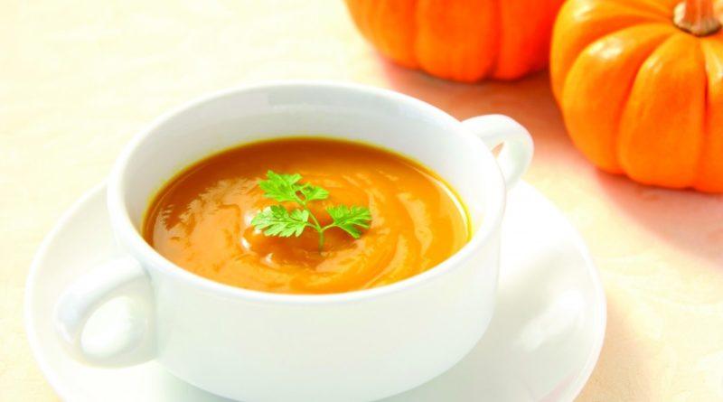 Тыквенный суп-пюре.