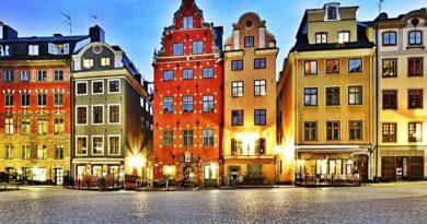 Сказочное королевство Швеция.