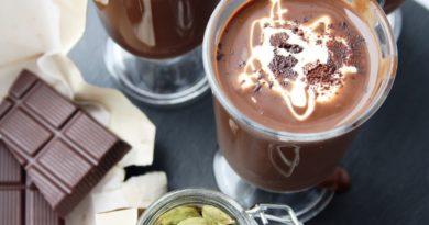 Горячий шоколад по-бразильски.