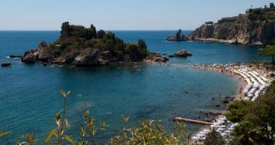 Путешествие в Таормину, Сицилия.