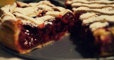 Американский вишневый пирог.