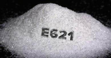 Тихий убийца Е621- глутамат натрия.