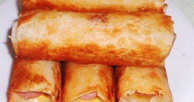 Сосиски в хрустящей картофельной шубке.