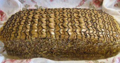 Торт «Семистаканник».