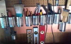 Хранение садового инвентаря и строительных инструментов