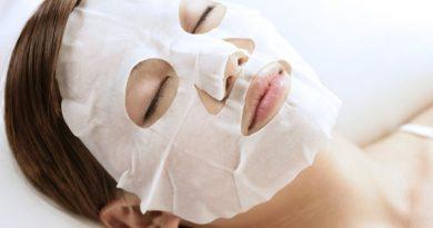 Правильное использование тканевых масок.