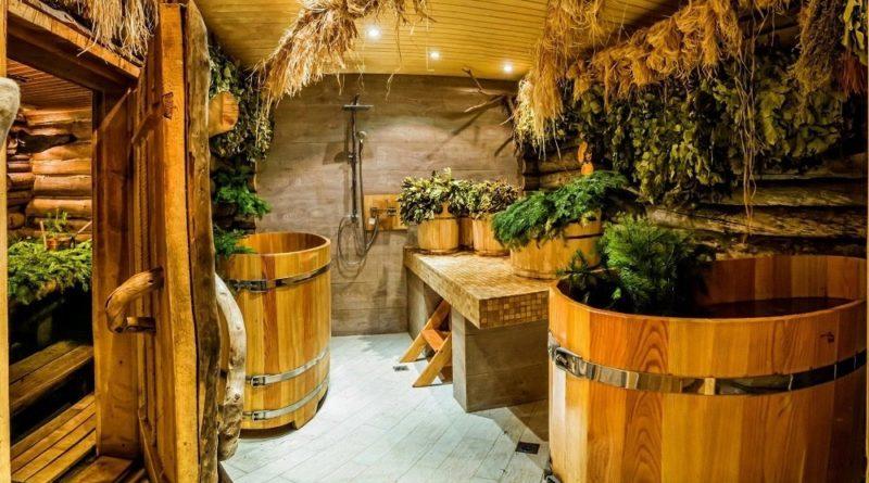 Применение лекарственных трав в бане.