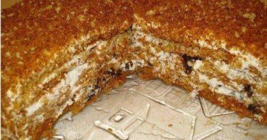 Медовый торт «Особенный».