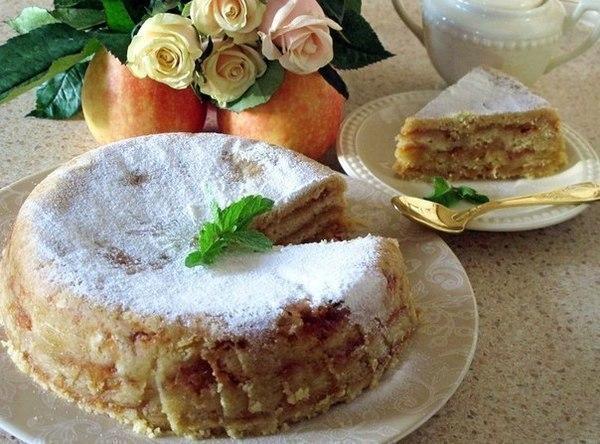 """""""Яблочный торт""""."""