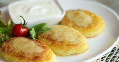 Картофельный постные зразы с капустой .