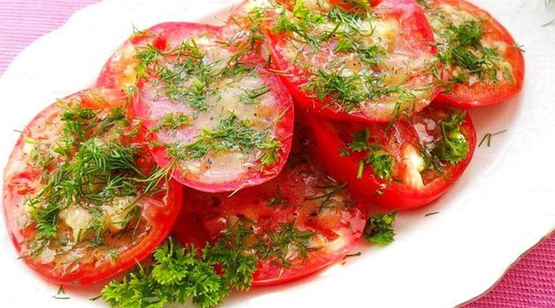 Маринованные помидоры по-итальянски.