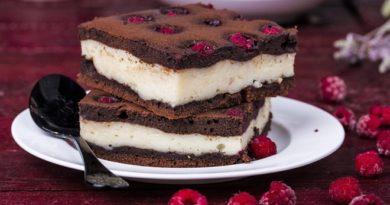 Творожный пирог.
