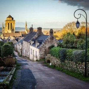 Самые красивые деревни Бретани.
