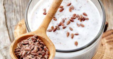Как очистить кишечник семенами льна с кефиром?