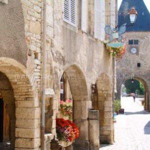 Самые красивые деревни Бургундии.