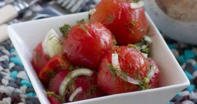 Закусочные помидорки за сутки