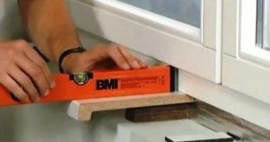 Как установить подоконник в доме с кирпичными стенами.