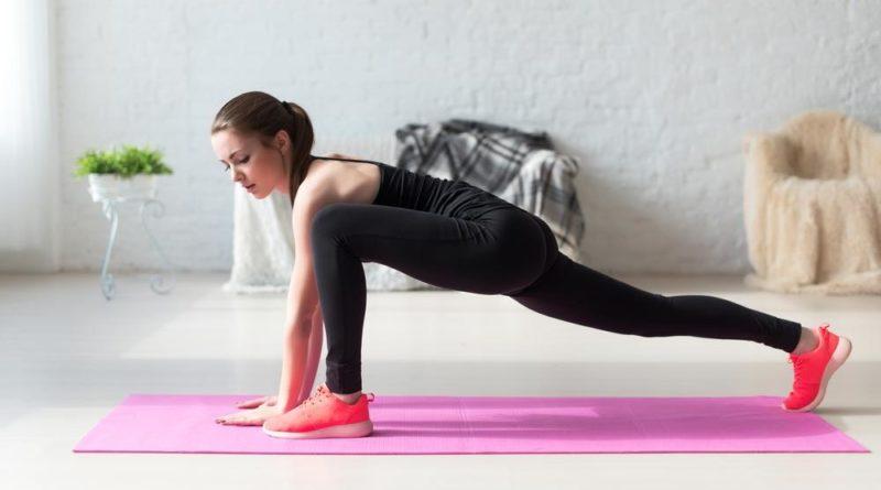 Комплекс полезных упражнений на растяжку.
