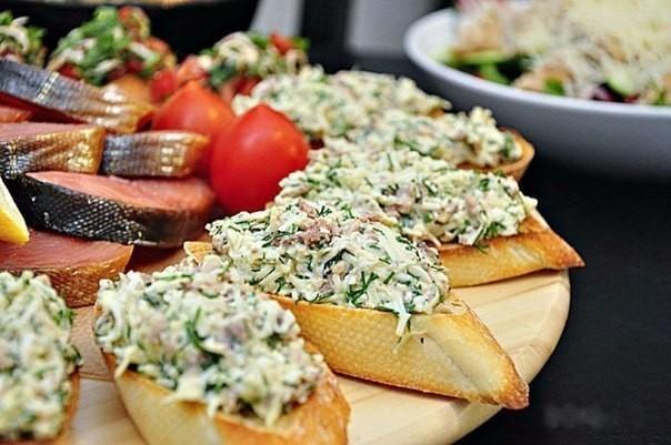 Подборка бутербродов.